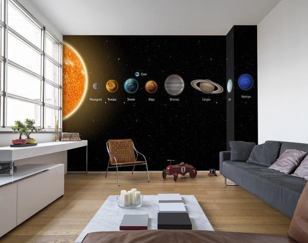 Солнечная система 400х270 см