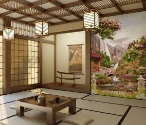 Японский сад (раб)  200х270 см