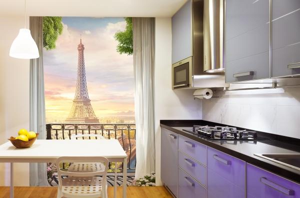 Парижское утро  200х270 см
