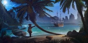 Пиратский остров  300х147 см