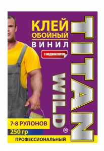 Titan Wild/Обойный клейTitan Wild обойный винил  250 Б/И (250 гр.)
