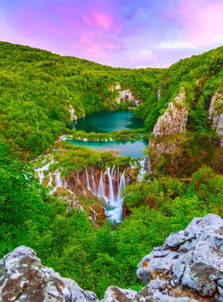Фотообои/K коллекцияШирокий водопад 200х270 см
