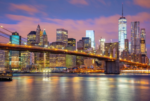 Фотообои/K коллекцияМанхэттен рассвет 400х270 см