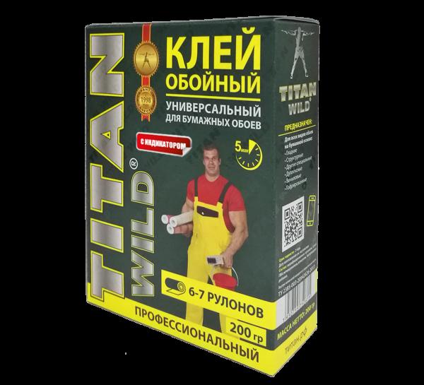 Titan Wild/Обойный клейTitan Wild обойный универсал. 200 С/И (200 гр.)