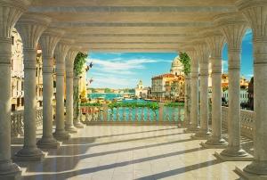 Фотообои/L КоллекцияСолнечный балкон 2 400х270 см