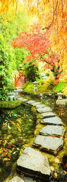Фотообои/L КоллекцияЯпонский сад 100х270