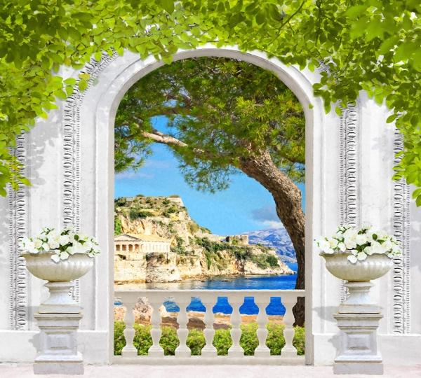 Фотообои/L КоллекцияАрка Греция 300х270 см