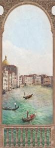 Фотообои/L КоллекцияБалкон Венеция 1 100х270