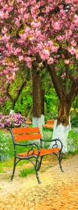 Фотообои/L КоллекцияВишневый сад 100х270