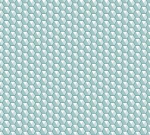 Фотообои/P коллекцияОрнамент соты (голубой) 300х270
