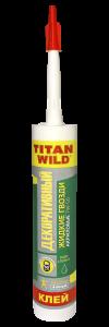"Titan Wild/Жидкие гвозди АКРИЛОВЫЕ""TITAN WILD"" жидкие гвозди акриловые Декоративный 375 гр.  (12)"