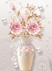 Фотообои/T коллекцияВазы с цветами  200х270