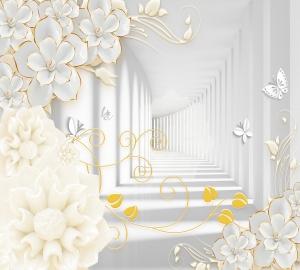 Фотообои/T коллекцияДекоративные цветы 300х270