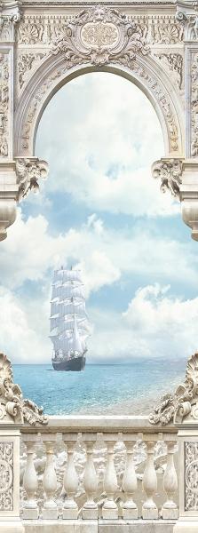Фотообои/T коллекцияБелые паруса 100х270