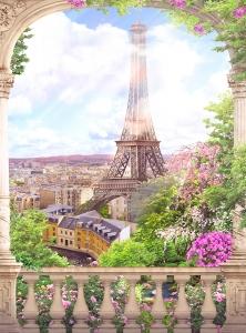 Фотообои/T коллекцияСолнечный Париж 200х270