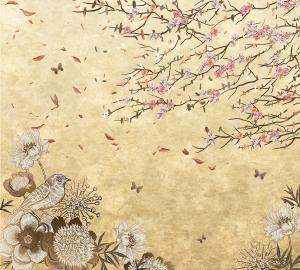 Фотообои/T коллекцияВинтажные цветы 300х270