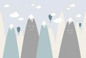 Фотообои/T коллекцияВысокие горы (повторяющиеся) 400х270
