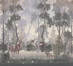 Фотообои/T коллекцияЗагадочный лес 300х270