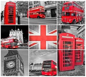 Лондон коллаж 300х270 см