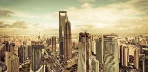 Панорама города 300х147 см