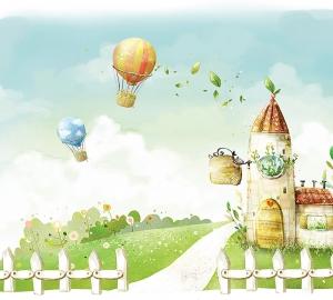Воздушные шары 300х270 см
