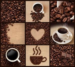 Кофейные зерна микс 300х270 см