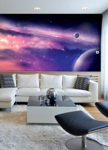 Фотообои/B коллекцияДалекая галактика 300х147 см