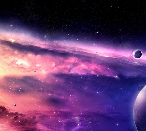 Фотообои/B коллекцияДалекая галактика 2 300х270 см