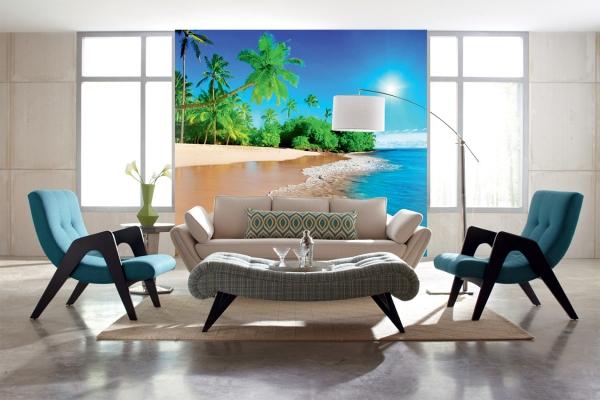 Дикий пляж   300х270 см