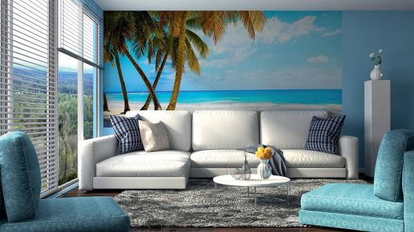 Фотообои/C коллекцияТропический пляж 300х147 см