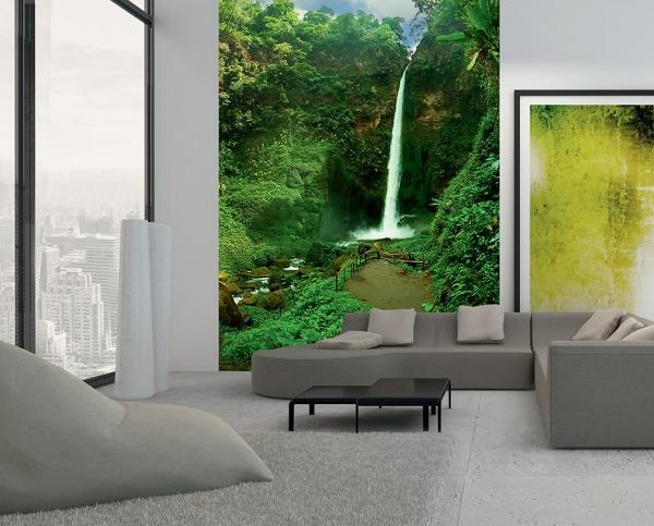 Фотообои/C коллекцияТропический водопад 200х270 см