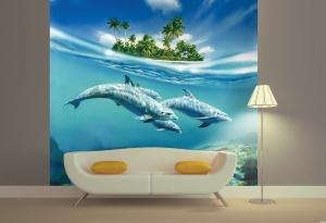 Дельфины 300х270 см