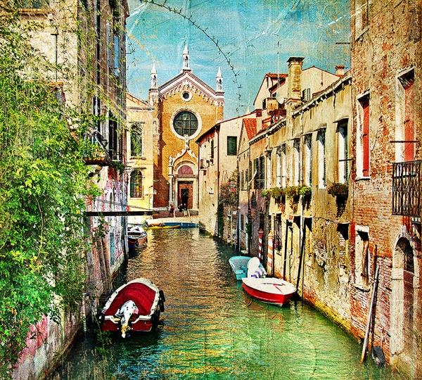 Фотообои/C коллекцияКаналы Венеции 2 300х270 см
