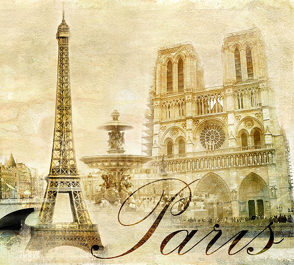франция открытка картинка часть ноги
