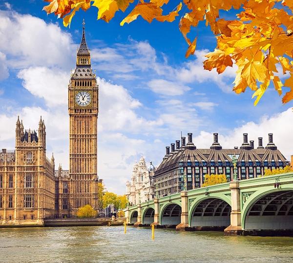Осенний Лондон 300х270 см