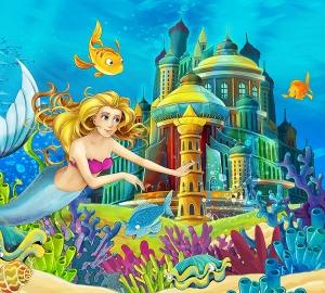 Подводное царство 300х270 см