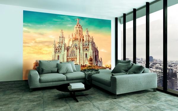 Церковь в Барселоне 300х270 см