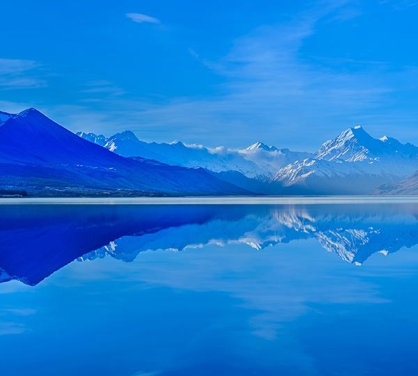 Озеро в горах 300х270 см