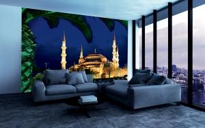 Вид на голубую мечеть 300х270 см