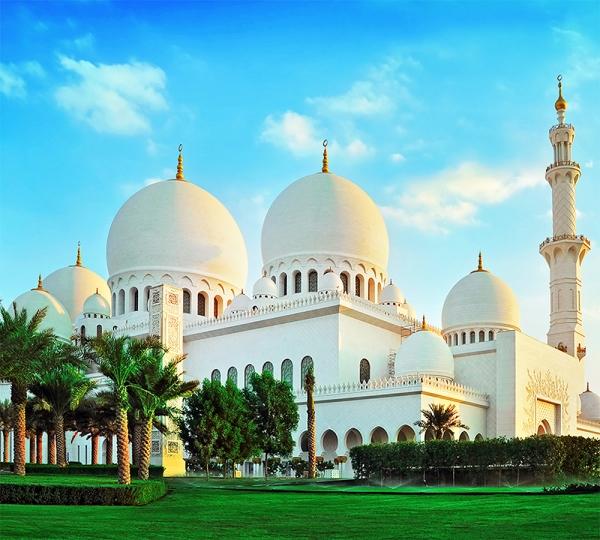Мечеть шейха Зайда на рассвете 300х270 см