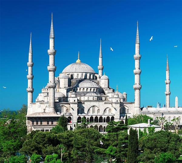 Стамбул Голубая мечеть 300х270 см