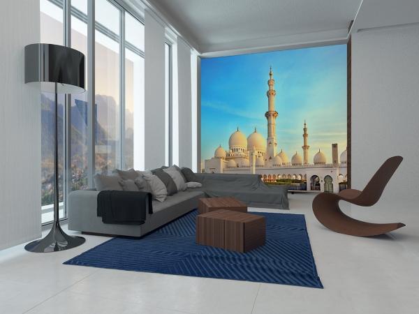 Мечеть в Абу-даби 300х270 см