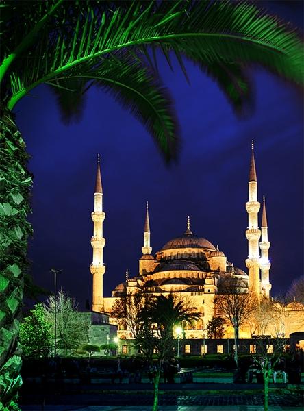 Вид на Голубую мечеть 200х270 см