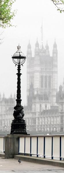Фотообои/C коллекцияЛондонский фонарь 100х270 см