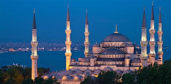 Фотообои/C коллекцияСтамбул Голубая мечеть 300х147 см