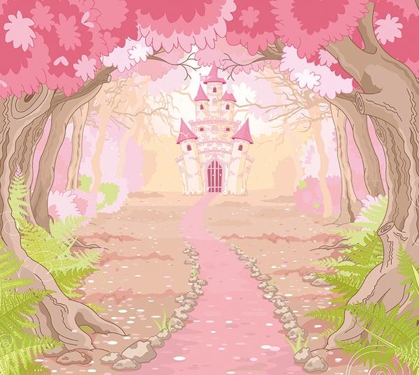 Замок в лесу 300х270 см