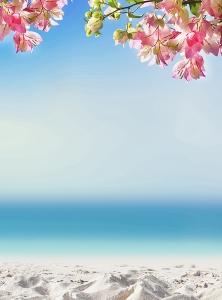 Фотообои/D коллекцияПесчаный пляж 200х270 см