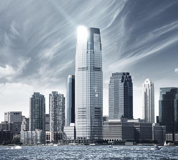 Фотообои/D коллекцияНебо над Нью-Йорком 300х270 см