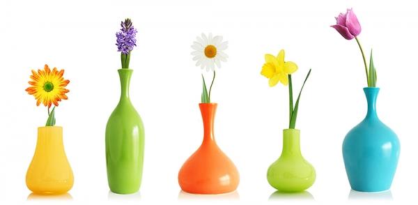 Фотообои/D коллекцияЦветы в вазах 300х147 см