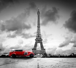 Фотообои/D коллекцияКрасный авто 300х270 см